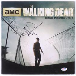 "Andrew Lincoln Signed ""The Walking Dead: AMC Original Soundtrack, Vol. 2"" Vinyl Record Album (PSA CO"