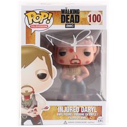 "Norman Reedus Signed ""The Walking Dead"" Injured Daryl #100 Funko Pop! (Radtke COA)"