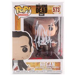 """Jeffrey Dean Morgan Signed The Walking Dead """"Negan"""" #573 Funko Pop Vinyl Figure (Radtke COA)"""