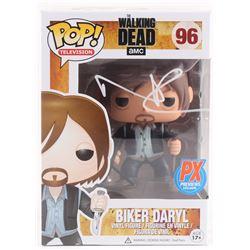"""Norman Reedus Signed The Walking Dead """"Biker Daryl"""" #96 Funko Pop Figure (Radtke COA)"""