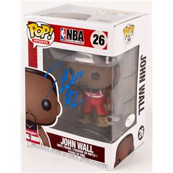 """John Wall Signed """"NBA"""" John Wall #26 Funko Pop! Vinyl Figure (JSA COA)"""