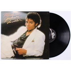 "Michael Jackson Twice Signed ""Thriller"" Vinyl Record Album (JSA LOA)"