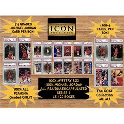 Icon Authentic 100X Mystery Box 100% Michael Jordan Series 1 (Guaranteed Michael Jordan In Every Box