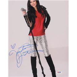 "Victoria Justice Signed ""Victorious"" 11x14 Photo (PSA COA)"