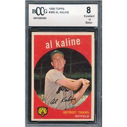 1959 Topps #360 Al Kaline (BCCG 8)