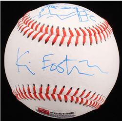 Kevin Eastman Signed OL Baseball with Hand-Drawn Shredder Sketch (PA COA)