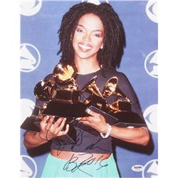 "Lauryn Hill Signed ""Grammy Awards"" 11x14 Photo Inscribed ""2016"" (PSA COA)"