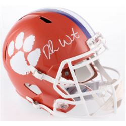 Deshaun Watson Signed Clemson Tigers Full-Size Speed Helmet (Beckett COA)