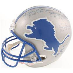 Detroit Lions Hall Of Famers Helmet Signed by (5) with Joe Schmidt, Ollie Matson, Lou Creekmur, John