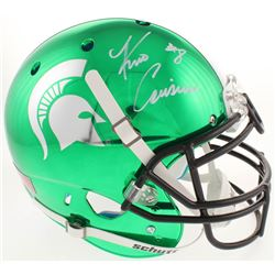 Kirk Cousins Signed Michigan State Spartans Full-Size Authentic On-Field Chrome Helmet (Radtke COA)