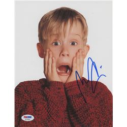 "Macaulay Culkin Signed ""Home Alone"" 8x10 Photo (PSA COA)"