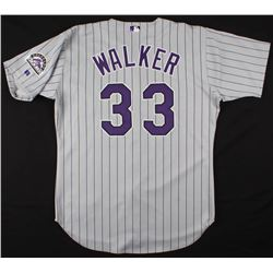 Larry Walker Game-Worn Colorado Rockies Jersey (100% Authentic LOA)