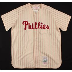 Richie Ashburn Signed Philadelphia Phillies Jersey (JSA LOA)