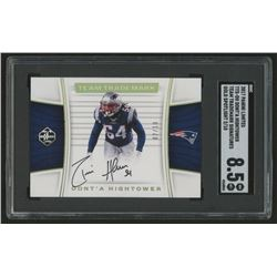 2017 Panini Preferred Gold #159 Dont'a Hightower PEN Autograph / 10 (SGC 8.5)