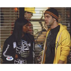 "Mindy Kaling  BJ Novak Signed ""The Office"" 8x10 Photo (PSA COA)"