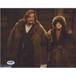 "Jennifer Jason Leigh Signed ""The Hateful Eight"" 8x10 Photo (PSA COA)"