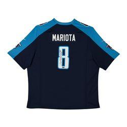 Marcus Mariota Signed Tennessee Titans Jersey (UDA COA)