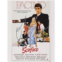 """Oliver Stone Signed """"Scarface"""" 11x14 Photo (JSA COA)"""
