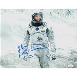 "Matthew McConaughey Signed ""Interstellar"" 11x14 Photo (JSA COA)"