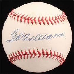 Ted Williams Signed OAL Baseball (JSA ALOA)