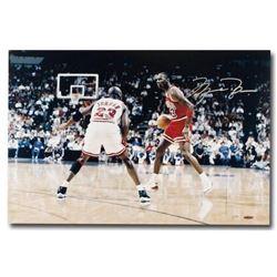 "Michael Jordan Signed Chicago Bulls ""Driven"" Limited Edition 16x24 Photo (UDA COA)"