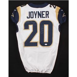 """Lamarcus Joyner Signed Game-Used Los Angeles Rams Jersey Inscribed """"2018 NFC Champions""""  """"Super Bowl"""