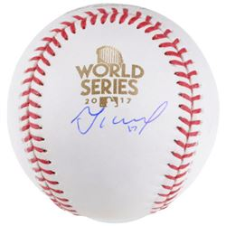 Jose Altuve Signed 2017 World Series Baseball (MLB Hologram  Fanatics Hologram)