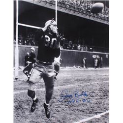 "Jack Butler Signed Pittsburgh Steelers 16x20 Photo Inscribed ""HOF 2012"" (JSA COA)"