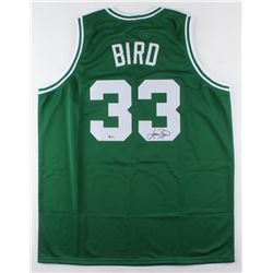 Larry Bird Signed Jersey (Beckett COA)