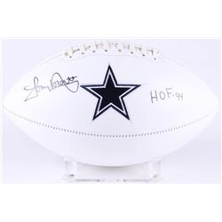 "Tony Dorsett Signed Dallas Cowboys Logo Football Inscribed ""HOF '94"" (JSA COA)"