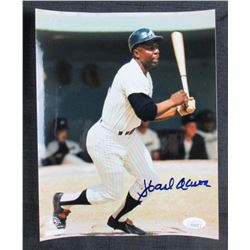 Hank Aaron Signed Atlanta Braves 8x10 Photo (JSA Hologram)