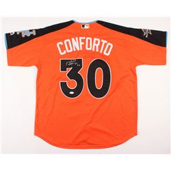 Michael Conforto Signed 2017 All-Star Game Batting Practice Jersey (PSA COA)