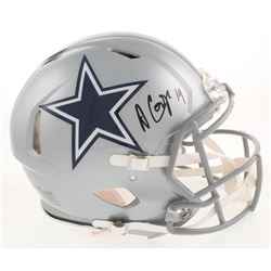 Amari Cooper Signed Dallas Cowboys Full-Size Authentic On-Field Speed Helmet (Beckett COA)