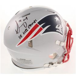 """Sony Michel Signed New England Patriots Full-Size Authentic On-Field Speed Helmet Inscribed """"SB LIII"""
