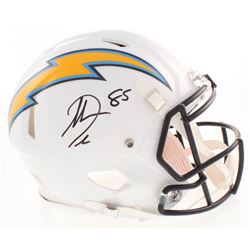 Antonio Gates Signed Los Angeles Chargers Full-Size Authentic On-Field Speed Helmet (Beckett COA)