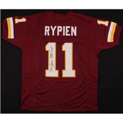 "Mark Rypien Signed Jersey Inscribed ""XXVI 'MVP'"" (JSA COA)"