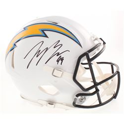 Joey Bosa Signed Los Angeles Chargers Full-Size Authentic On-Field Speed Helmet (Beckett COA)