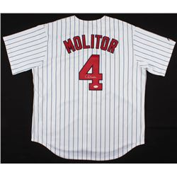Paul Molitor Signed Minnesota Twins Jersey (JSA COA)
