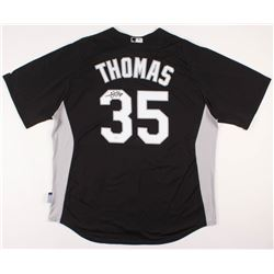 Frank Thomas Signed Chicago White Sox Jersey (JSA COA)
