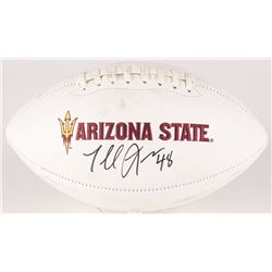 Terrell Suggs Signed Arizona State Sun Devils Logo Football (Radtke COA)