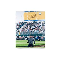 """Tiger Woods Signed """"Birdie At The British"""" Limited Edition 16x20 Photo (UDA COA)"""
