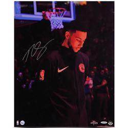 "Ben Simmons Signed Philadelphia 76ers ""Preparation"" Limited Edition 16x20 Photo (UDA COA)"
