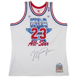 Michael Jordan Signed Limited Edition 1991 NBA All-Star Jersey (UDA COA)