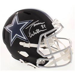 Jason Witten Signed Dallas Cowboys Full-Size Matte Black Speed Helmet (Beckett COA  Witten Hologram)