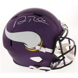 Adam Thielen Signed Minnesota Vikings Full-Size Speed Helmet (Beckett COA)