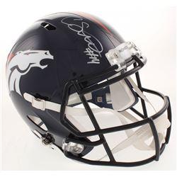 Courtland Sutton Signed Denver Broncos Full-Size Speed Helmet (JSA COA)