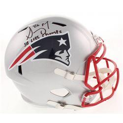 "Sony Michel Signed New England Patriots Full-Size Speed Helmet Inscribed ""SB LIII Champs"" (Beckett C"