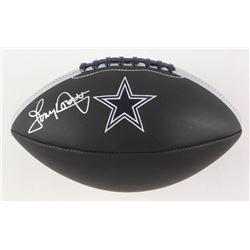 Tony Dorsett Signed Dallas Cowboys Logo Football (JSA Hologram)