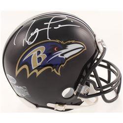 Ray Lewis Signed Baltimore Ravens Mini Helmet (Beckett COA)