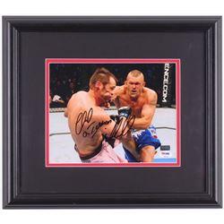"Chuck ""The Iceman"" Liddell Signed UFC 14.5x16.5 Custom Framed Photo (PSA COA)"